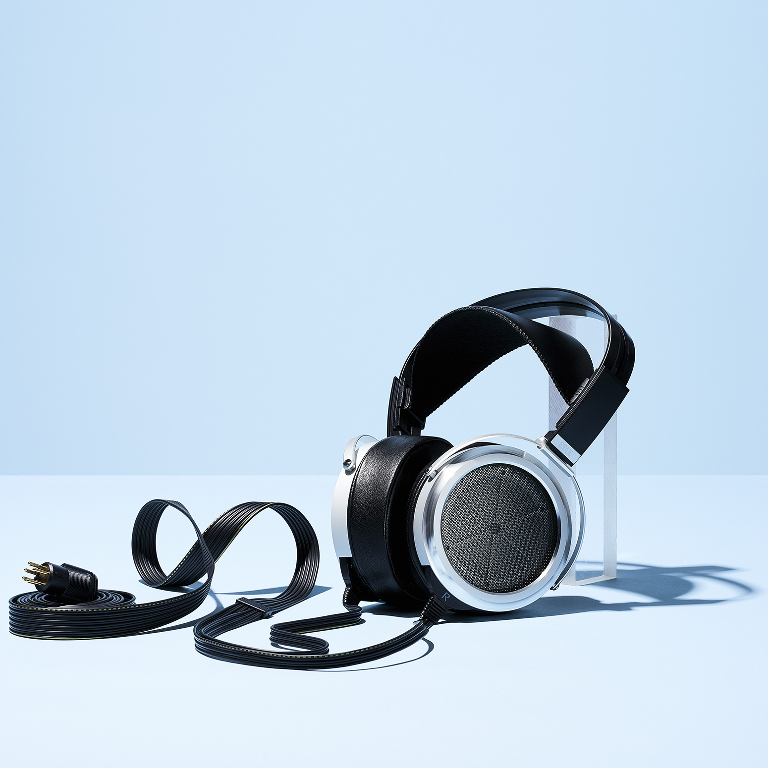 Stax Headphones styled by Jessica Stewart Prop Stylist Specializing in technology Imagery and Styling